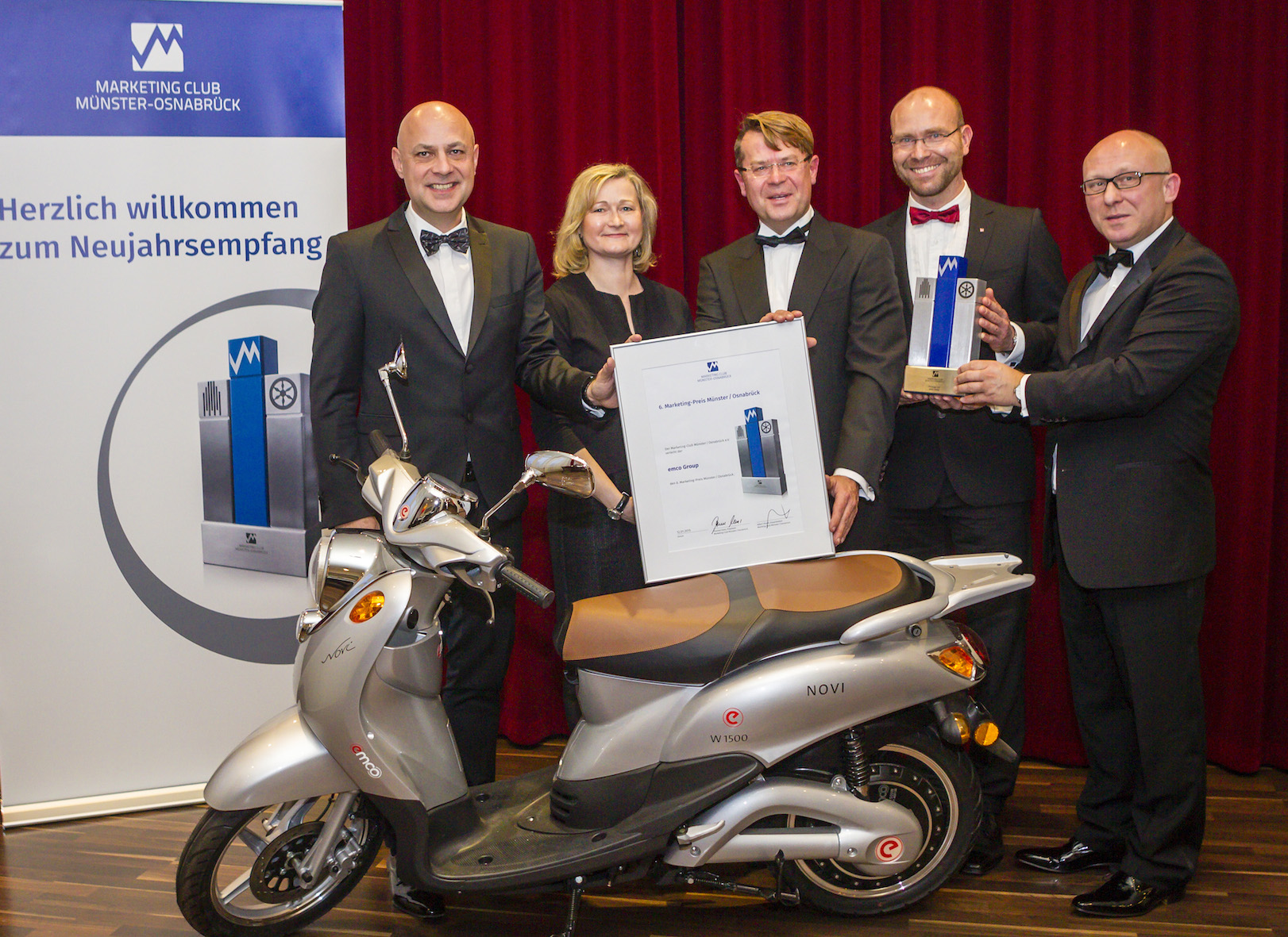 Emco wint marketingprijs in Duitsland