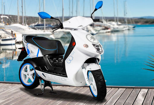 Govecs elektrische scooters 'made in Europe'