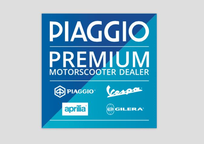 Lancering Piaggio Premium motorscooter dealer