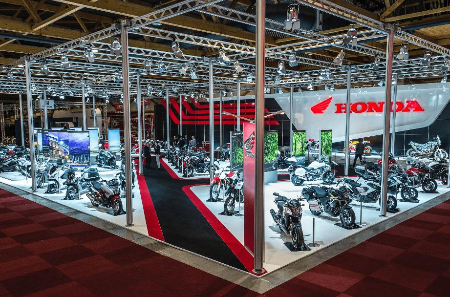 Honda bestverkochte motor/scooter in april