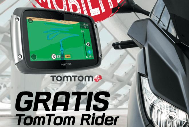 Gratis TomTom Rider bij nieuwe X-Max