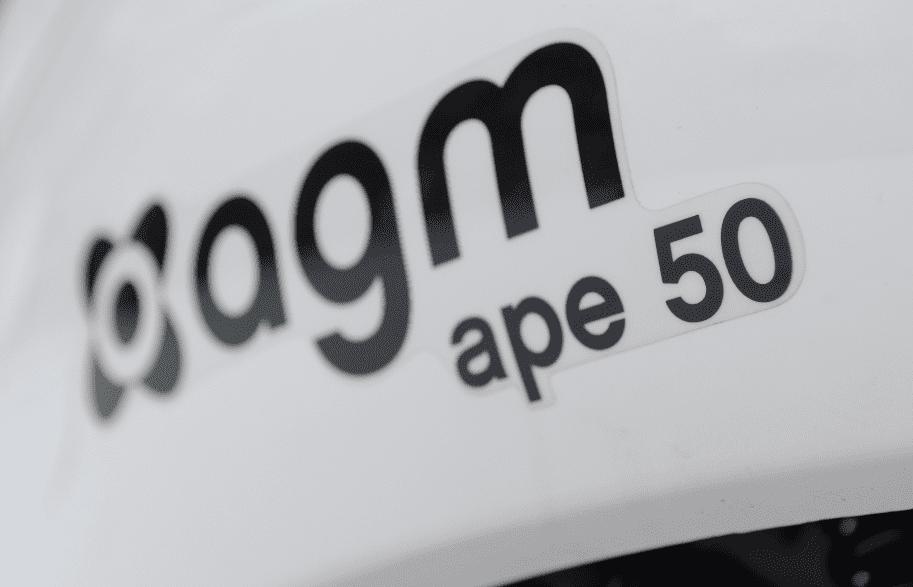 zomeractie AGM Ape 50 op=op