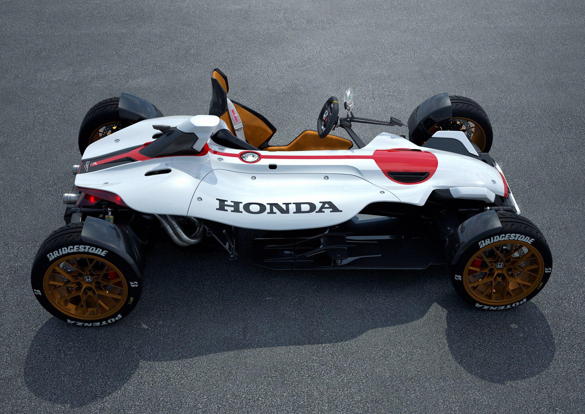 Honda toont project 2&4