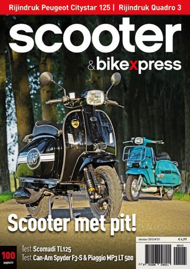Scooterxpress 101 (oktober 2015)