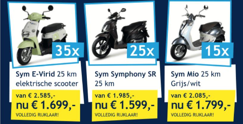 Joop Harmans' scooter actieweken op=op