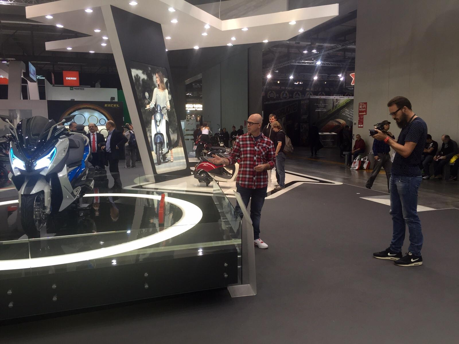 EICMA Milaan 2015, de bewegende beelden