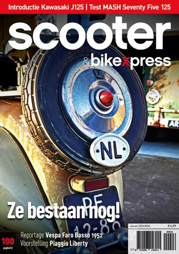 Scooter&bikexpress 104 (januari 2016)