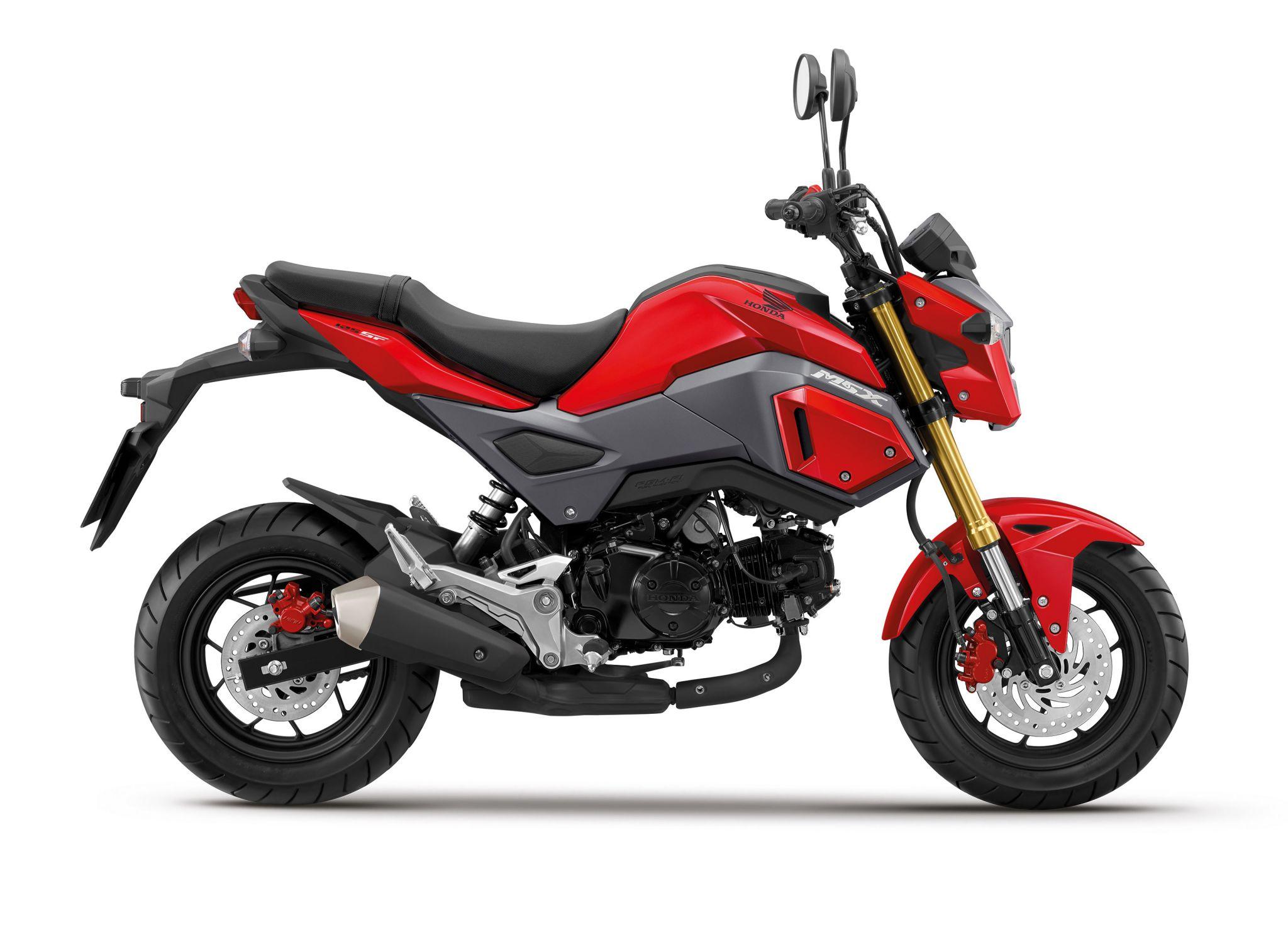 Honda MSX 125 is vernieuwd