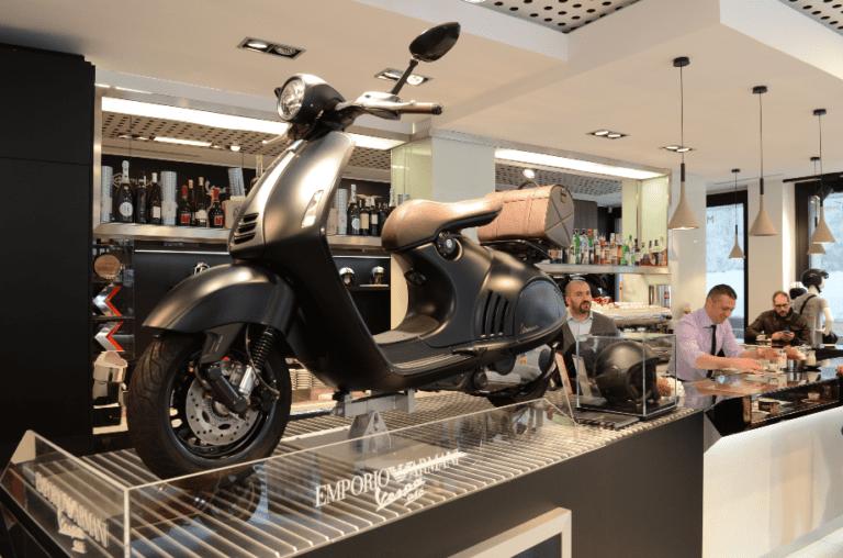 Motoplex concept store Milaan
