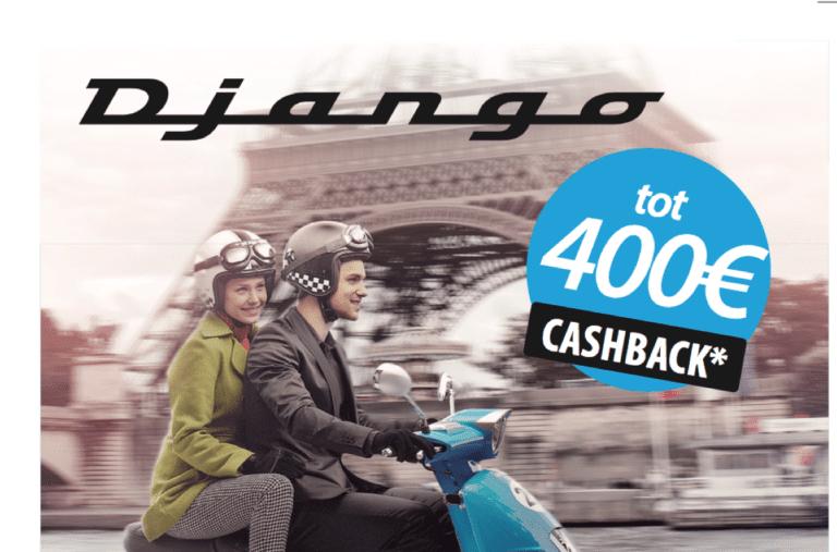 Peugeot Django lente actie