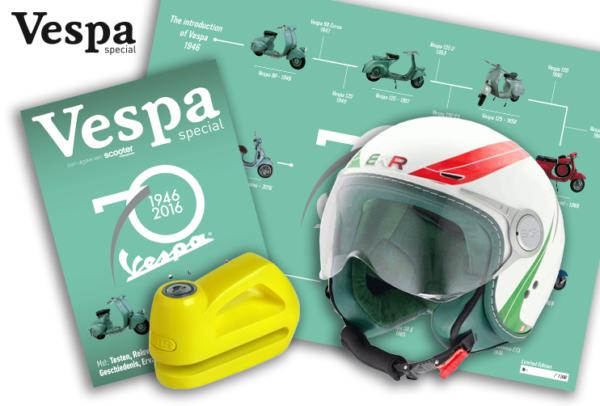 Vespa Special Facebook actie