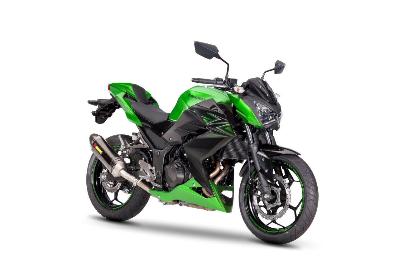 Ninja 300 en Z300 standaard als Performance Edition