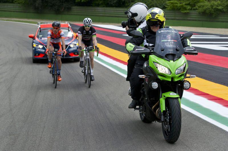 Kawasaki hofleverancier Giro d'Italia 2016