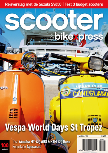 Scooter&bikexpress 110 (juli 2016)