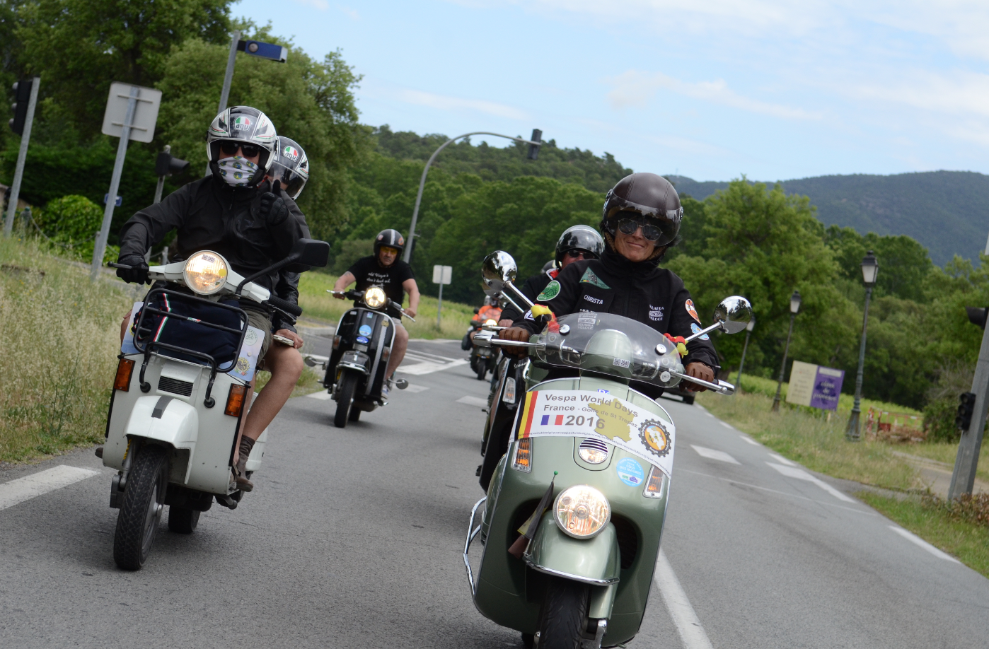 Vespa World Days, nagenieten