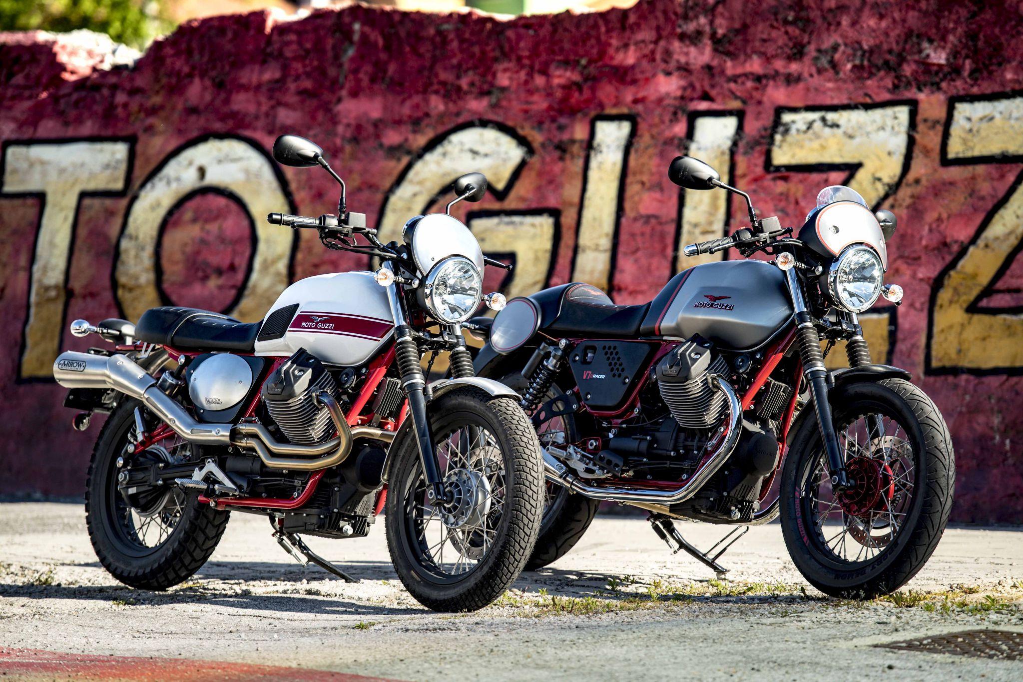 Moto Guzzi is jarig en trakteert
