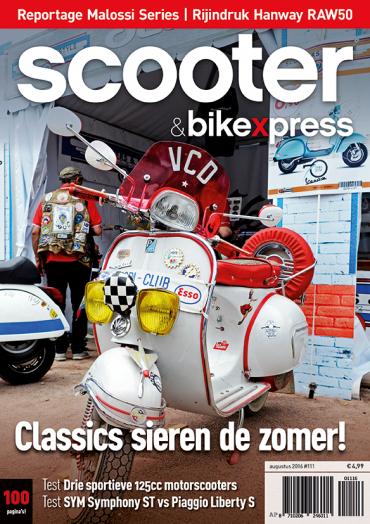 Scooter&bikexpress 111 (augustus 2016)