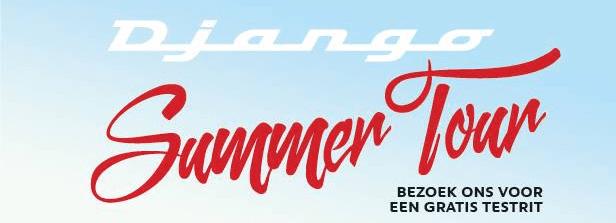 Django summer tour in Reeuwijk
