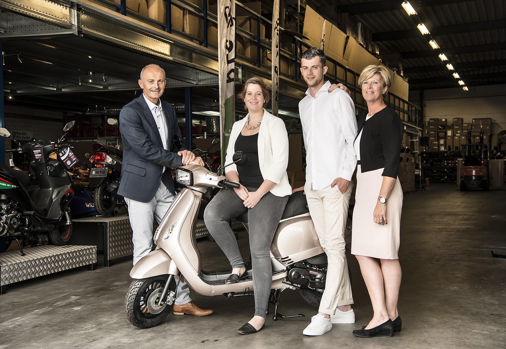AGM en BTC fuseren tot nummer twee van Nederlandse scootermarkt