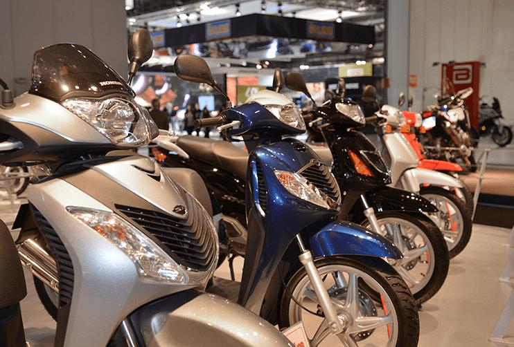 Honda op de Eicma Milaan