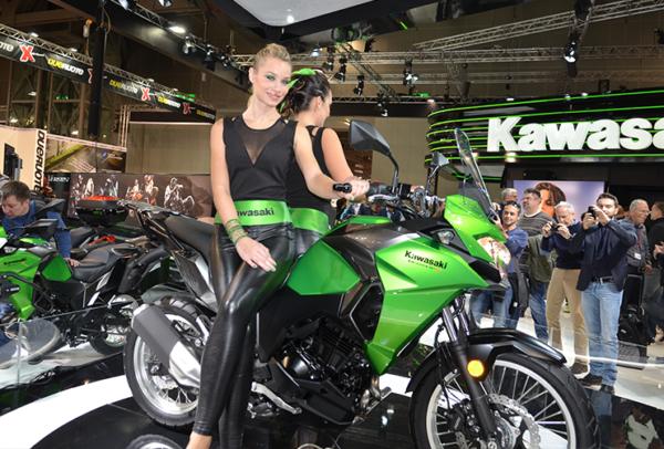 Kawasaki op de Eicma Milaan