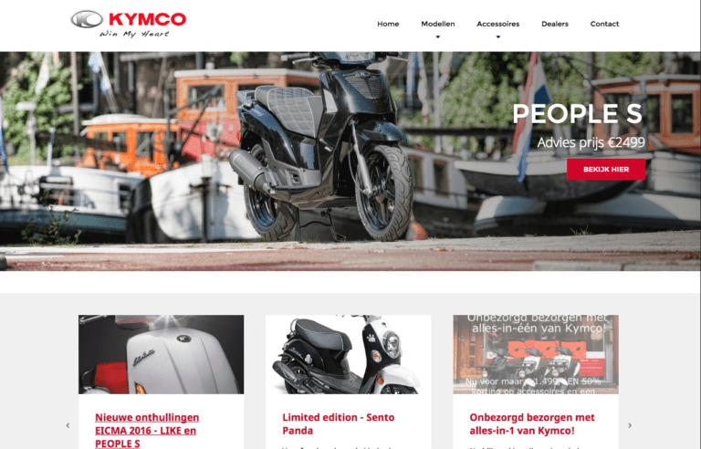 website kymco.nl