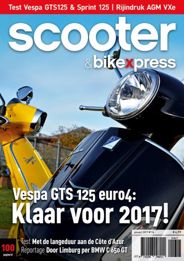 Scooter&bikexpress 116 (januari 2017)