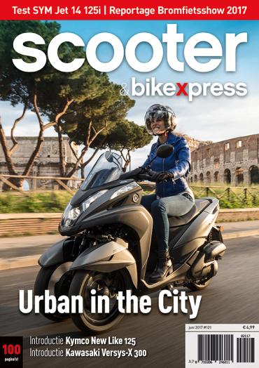 Scooter&bikexpress #121 (juni 2017)