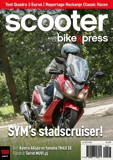 Scooter&bikexpress #122 (juli 2017)