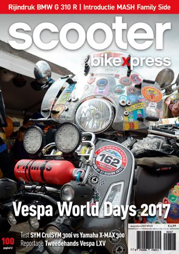 Scooter&bikexpress #123 (augustus 2017)