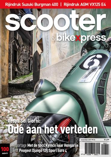 Scooter&bikexpress #126 (november 2017)