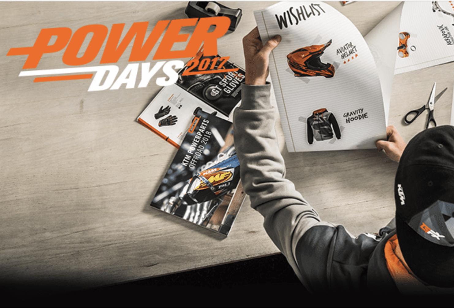 KTM PowerDays 2017