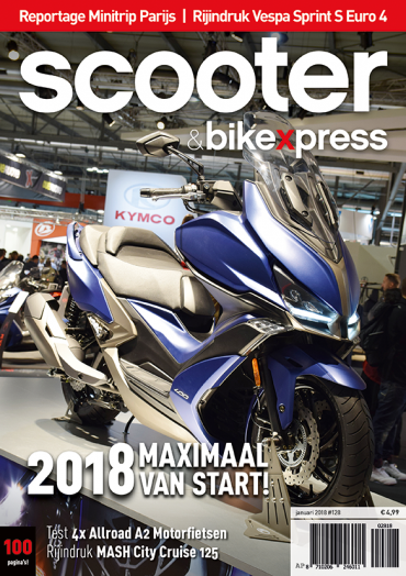 Scooter&bikexpress #128 (januari 2018)