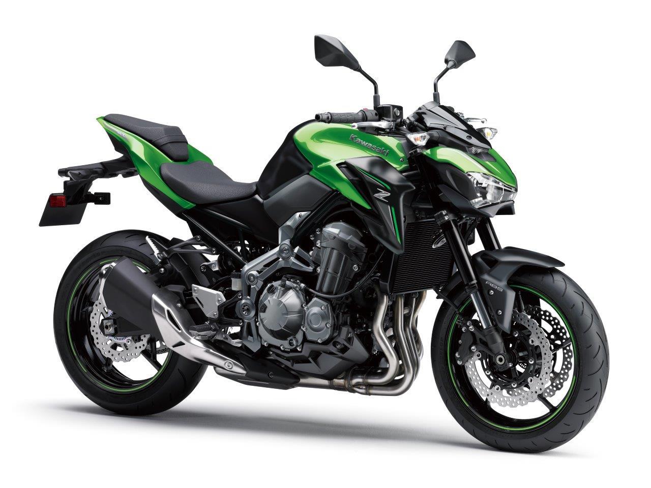 A2 geschikte Kawasaki Z900 70kW nu in de showroom!
