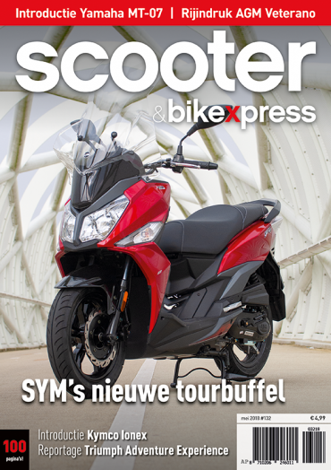 Scooter&bikexpress #132 (mei 2018)