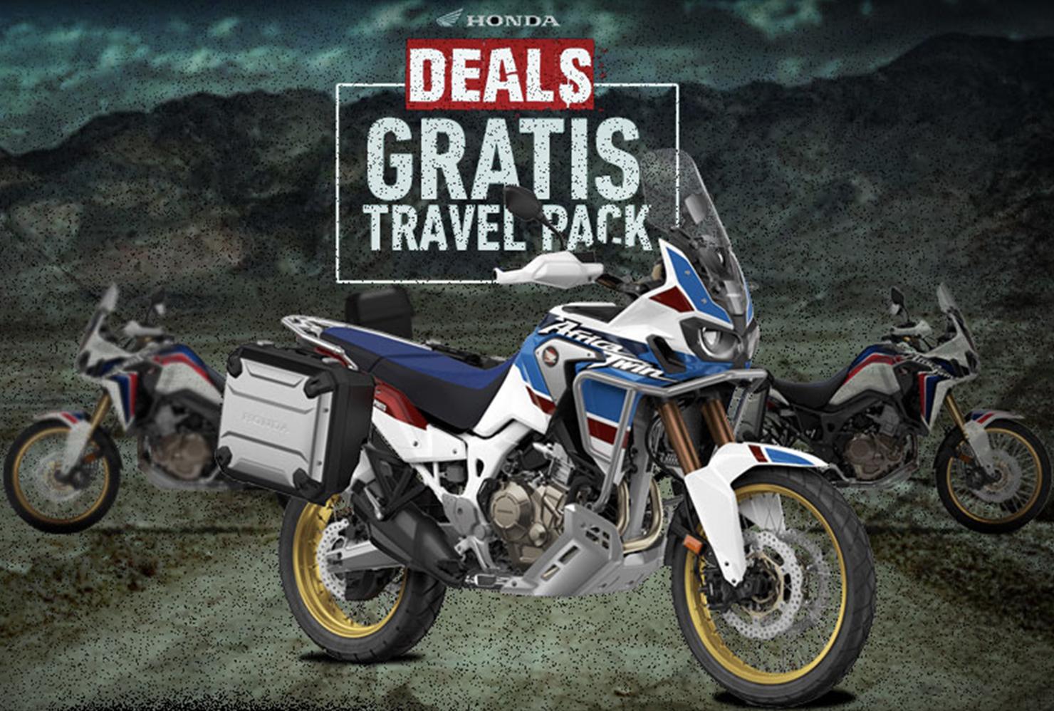 Zomerse 'Travel' promoties bij Honda
