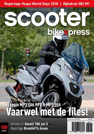 Scooter&bikexpress #135 (augustus 2018)