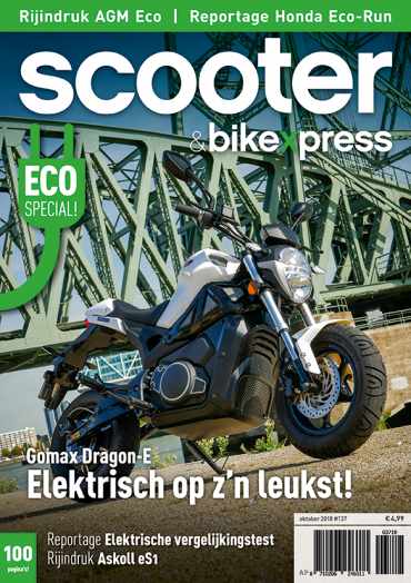 Scooter&bikexpress #137 (oktober 2018)