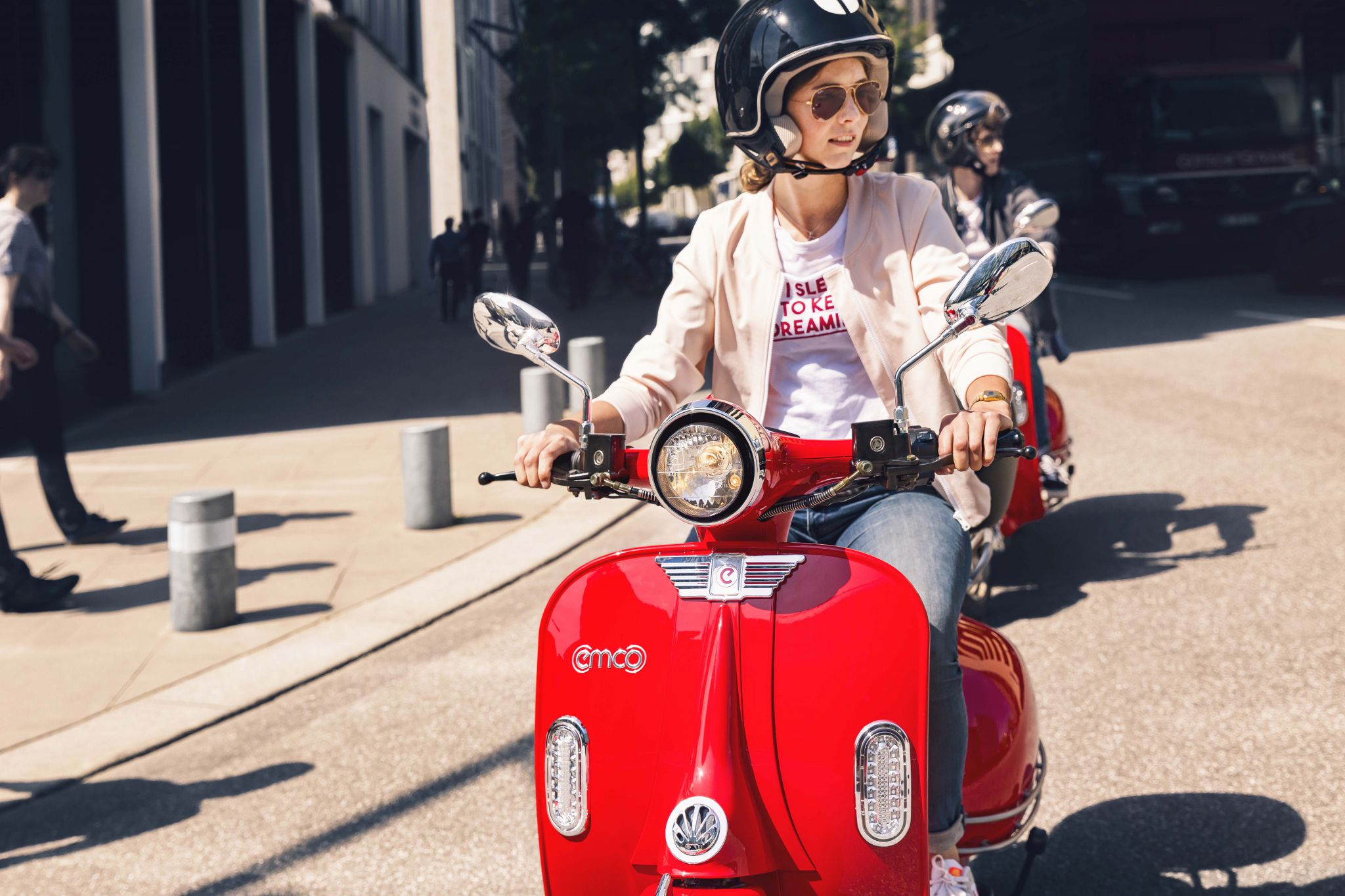 Emco e-scooters laat vernieuwingen zien op drie vakbeurzen