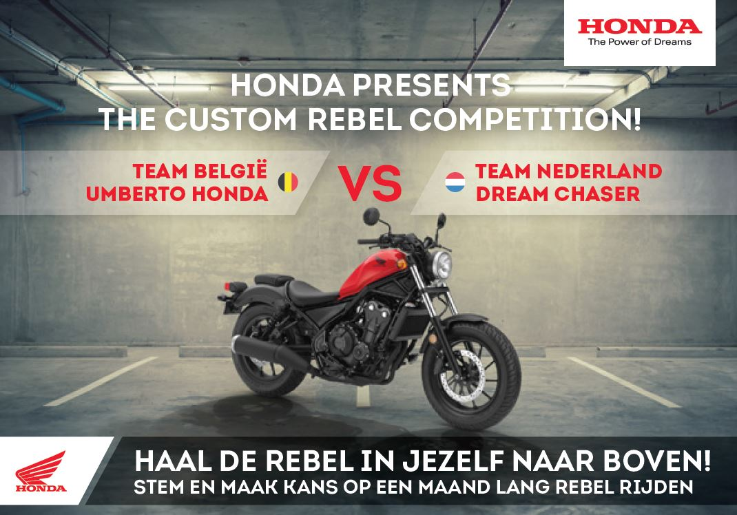 Onthulling Honda Custom project 'Rebel Dreams'