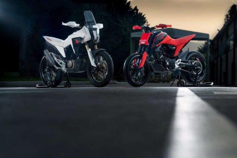 Honda's R&D afdeling uit Rome laat twee 125cc design studies op de EICMA 2018 zien