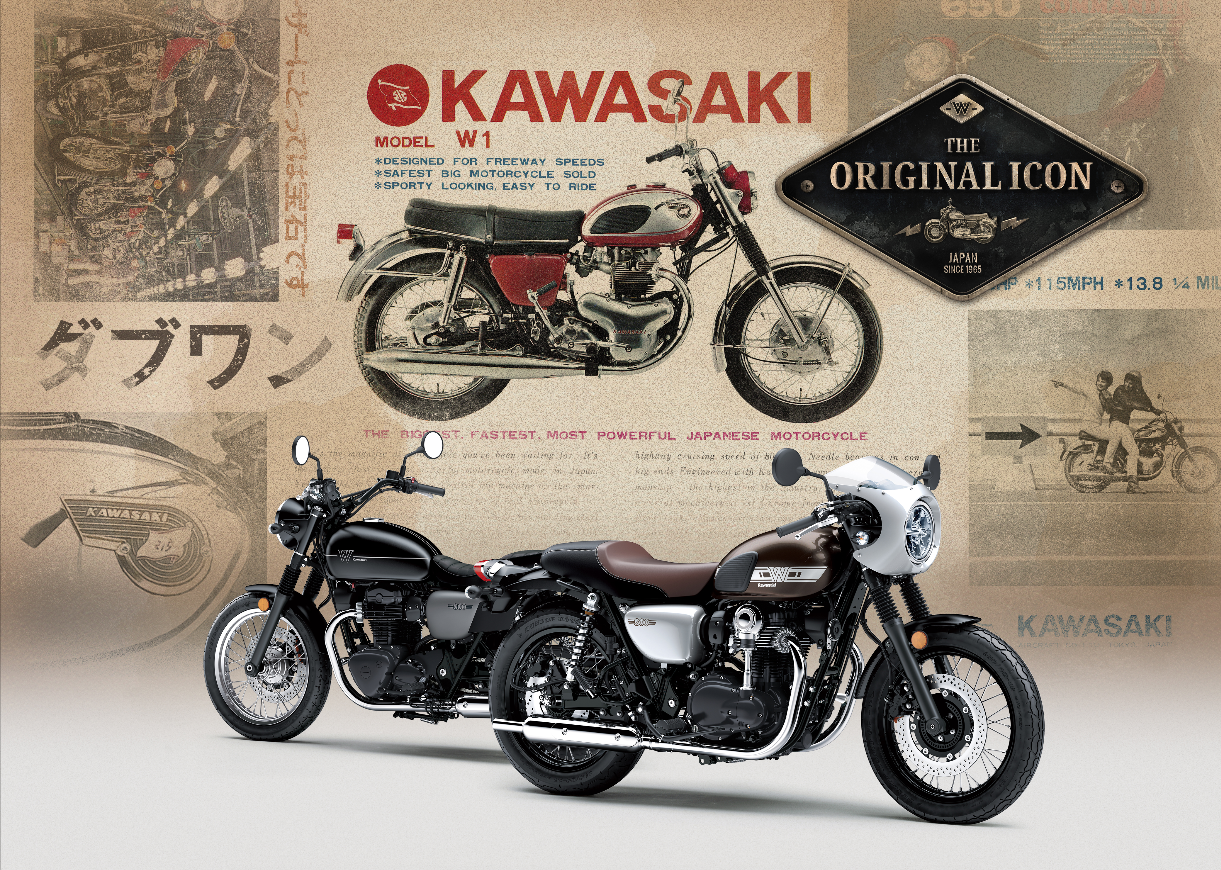 De nieuwe Kawasaki W800 – Original never goes out of style