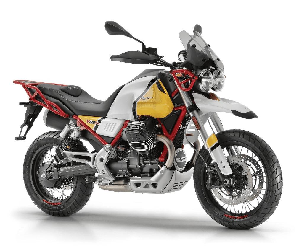 V85 TT: nieuwe enduro van Moto Guzzi onthuld op EICMA
