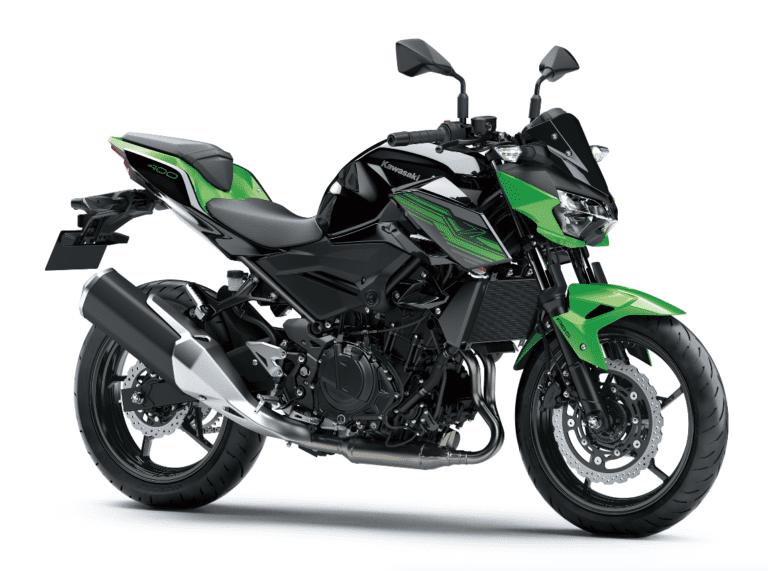 nieuwe Kawasaki Z400