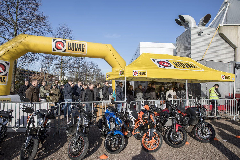 Het buitenterein van MOTORbeurs Utrecht bruist als nooit tevoren