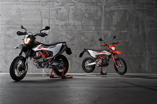 Nieuwe KTM 690 SMC R & KTM 690 Enduro R geïntroduceerd