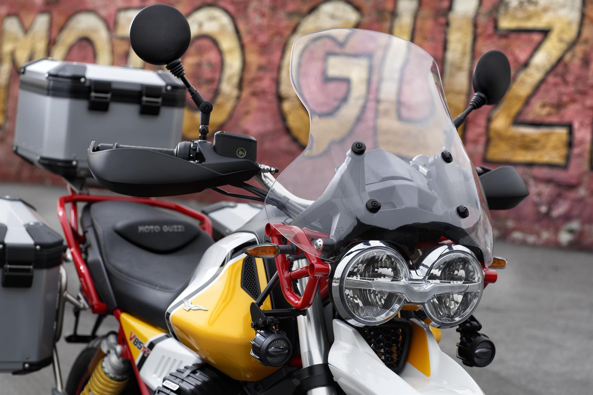 Moto Guzzi V85 TT: custom built dankzij uitgebreide personalisatie-optie