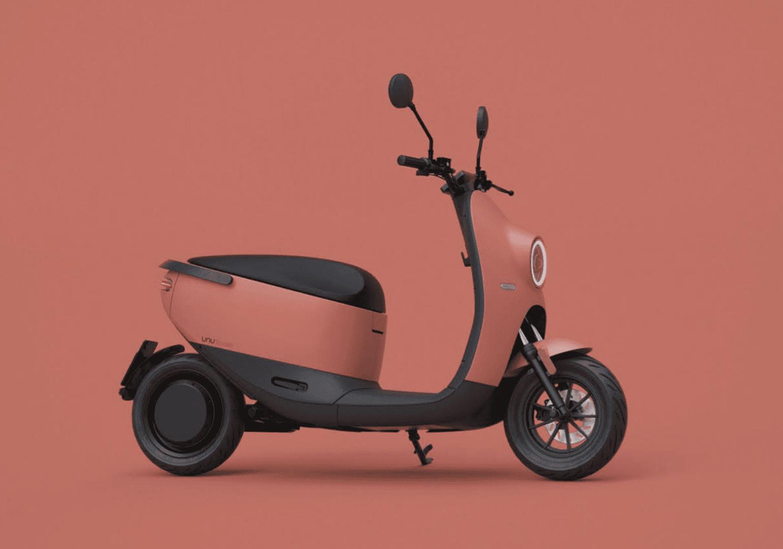 2e generatie unu scooter