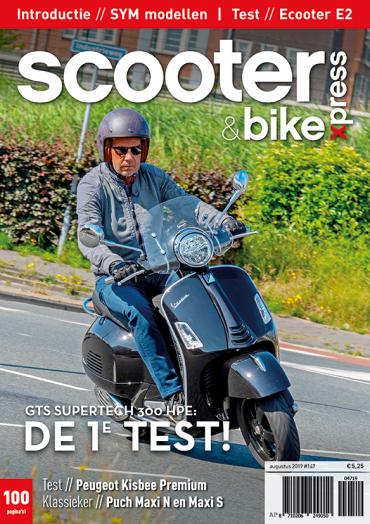 Scooter&bikexpress #147 (augustus 2019)