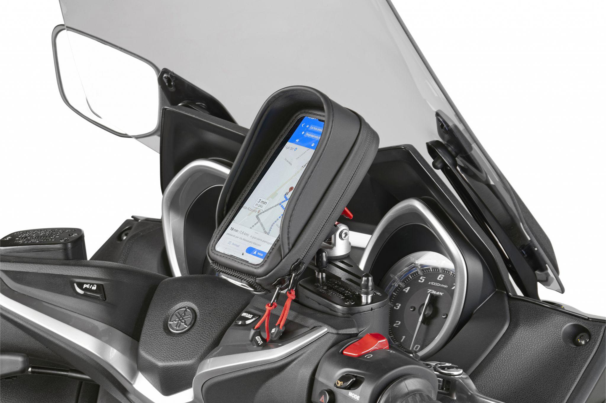 Nieuwe smartphonehouder van GIVI